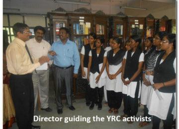 Director guiding the YRC activists