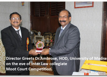 Inter Law collegiate Moot Court Competition