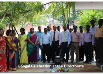 Pongal Celebration at the Directorate
